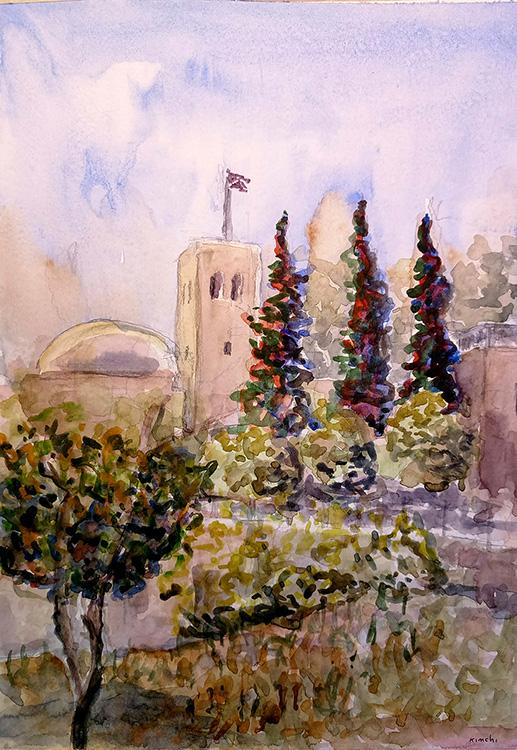 Saint Andrews Church, Jerusalem Israel