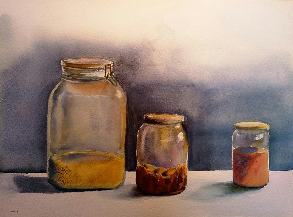 Study of Glass Jars No. 2